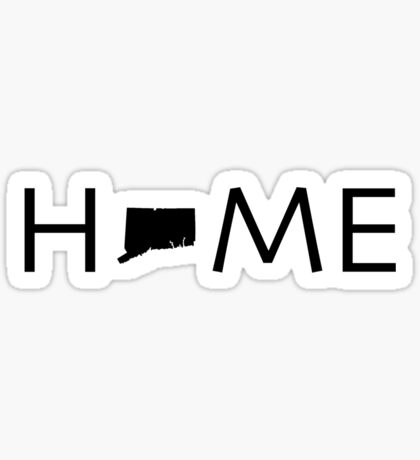 CONNECTICUT HOME Sticker