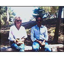 Meri and Idris Photographic Print