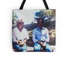 Meri and Idris Tote Bag