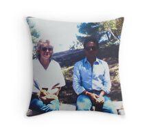 Meri and Idris Throw Pillow