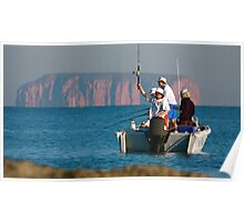 Remote Fishing Poster
