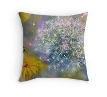 Soft daisy Throw Pillow