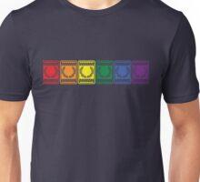 [blox] Laurel rainbow Unisex T-Shirt