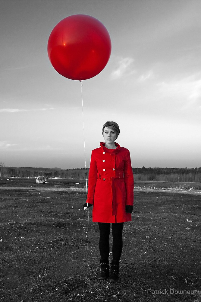 RED BALLOON by Patrick Downey
