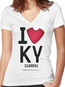 Kerry Women's Fitted V-Neck T-Shirt