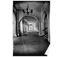 Arches in Balboa Park California Poster