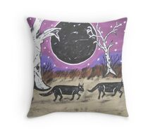 Dark Side Of The Moon. Throw Pillow