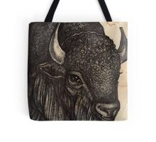 The Black Buffalo Tote Bag