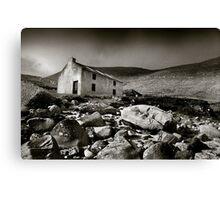 Abandoned Cottage, Achill Island, Ireland Canvas Print