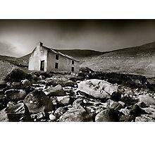 Abandoned Cottage, Achill Island, Ireland Photographic Print