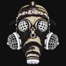 Steampunk / Cyberpunk Gas Mask #1B by Steve Crompton