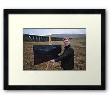 On Location (1) - Ribblehead Viaduct Framed Print