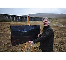 On Location (1) - Ribblehead Viaduct Photographic Print
