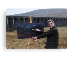 On Location (2) - Ribblehead Viaduct Canvas Print