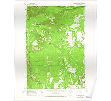 USGS Topo Map Oregon Partridge Creek 281047 1964 24000 Poster
