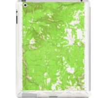 USGS Topo Map Oregon Partridge Creek 281047 1964 24000 iPad Case/Skin