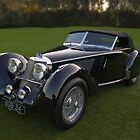 1937 Squire Corsica Short Chassis Roadster by Timothy Meissen