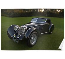 1937 Squire Corsica Short Chassis Roadster Poster