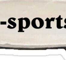 e-sports Sticker