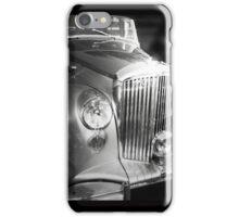 Classic motor - silver dream machine iPhone Case/Skin