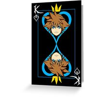 The King of Hearts Greeting Card