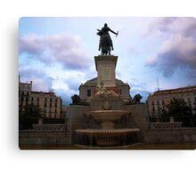 Plaza de Oriente Canvas Print