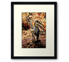 If you go down to the woods today ..... Framed Print
