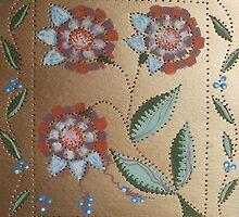 Mosaic Posies by linmarie