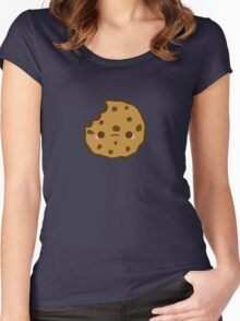 Cute yummy biscuit-cookie Women's Fitted Scoop T-Shirt