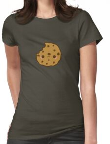 Cute yummy biscuit-cookie Womens Fitted T-Shirt