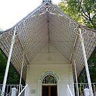 Chapel, Embry, Pas de Calais by Liz Garnett
