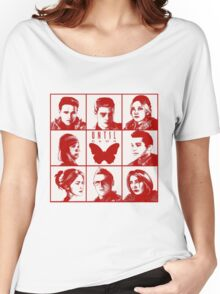 until dawn characters - red Women's Relaxed Fit T-Shirt