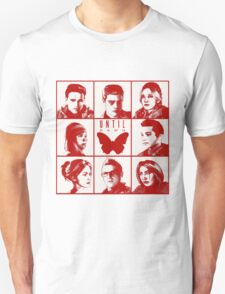 until dawn characters - red T-Shirt