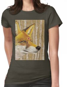 Mr Fox Womens Fitted T-Shirt