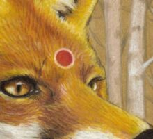 Mr Fox Sticker
