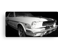 Vintage car - cool racer Canvas Print