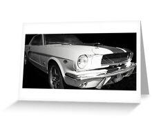 Vintage car - cool racer Greeting Card