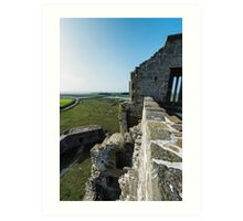 Carrigafoyle Castle Art Print