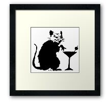 Banksy - V.i.p. Rat Framed Print