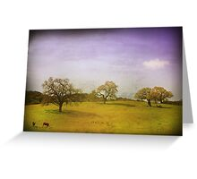 As Time Slowly Goes By Greeting Card