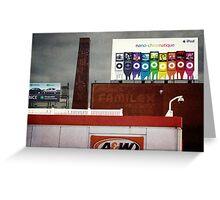 Urban Crazy Quilt Greeting Card