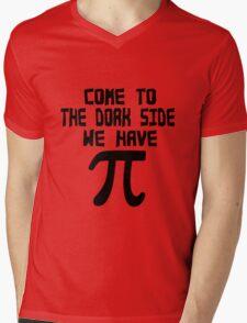 Come to the dork side we have pi geek funny nerd Mens V-Neck T-Shirt