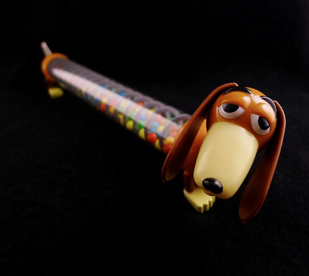 Slinky Dog (with Candy) by Barbara Morrison