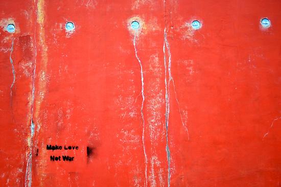 Make Love, Not War by Megan Alexandra Hoffman