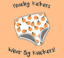 Peachy Kickers Wear Big Knickers! by DParry