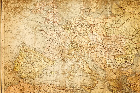Ancient world map. by Ligak