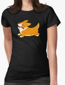 Corgi Womens Fitted T-Shirt