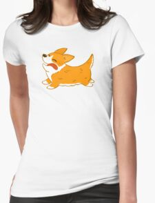 Corgi Womens Fitted T-Shirt