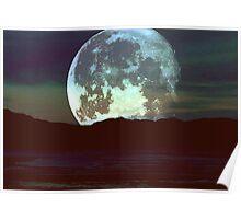 'Super Moon'  Poster