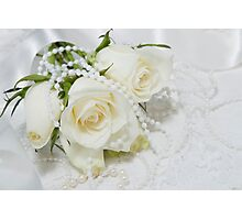 Wedding romance. Photographic Print